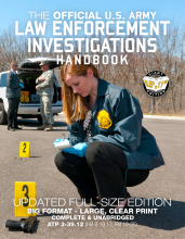 US Army Law Enforcement Investigations