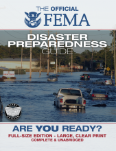 FEMA Are You Ready Preparedness Book
