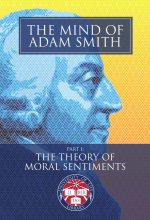 The Mind of Adam Smith Part 1: The Theory of Moral Sentiments: Front Cover
