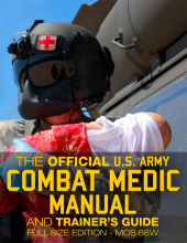 US Army Combat Medic Book