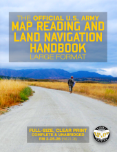 US Army Map Reading and Land Navigation Book