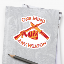 One Mind Any Weapon USMC Marine Corps MCMAP Martial Arts