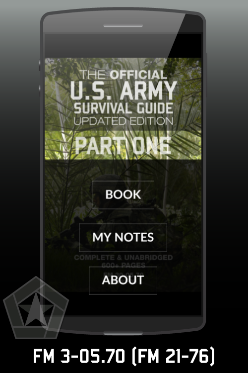 The Official US Army Survival Guide Android App