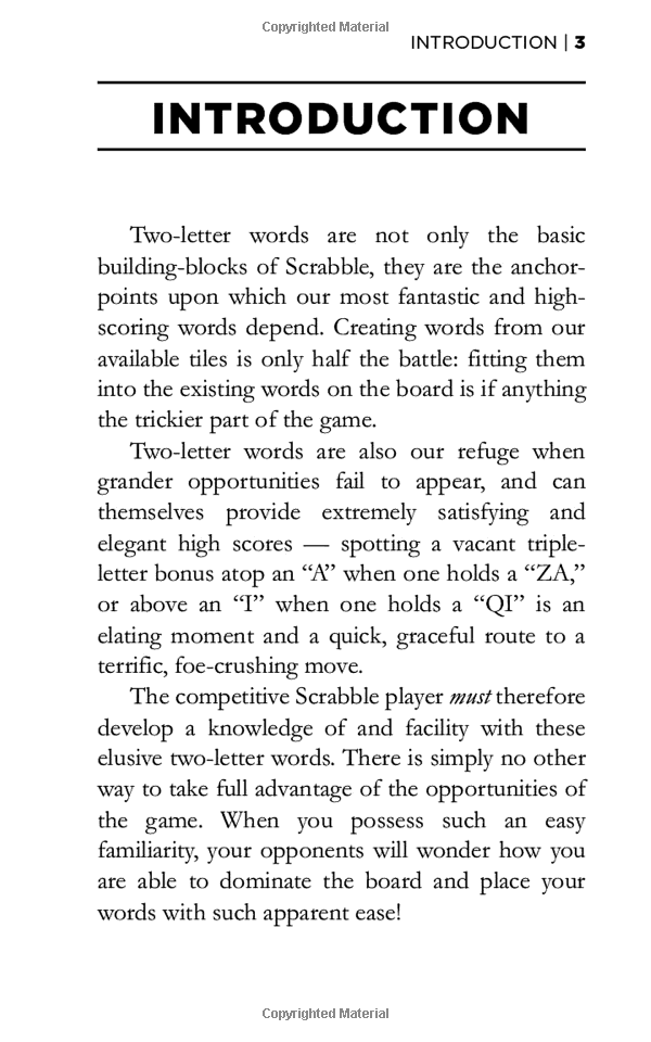 Dictionary of Two-Letter Words Rick Carlile Scrabble