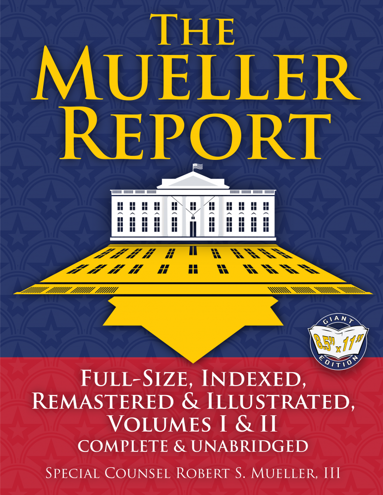 Mueller Report Full Size Front Cover