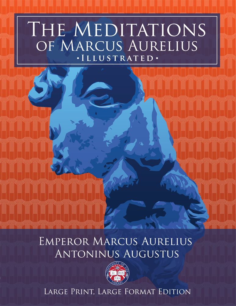 The Meditations of Marcus Aurelius Large Print Book