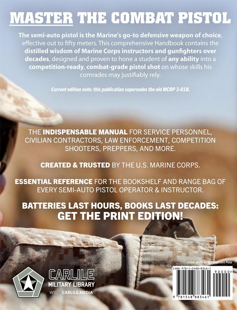 US Marine Corps Pistol Marksmanship