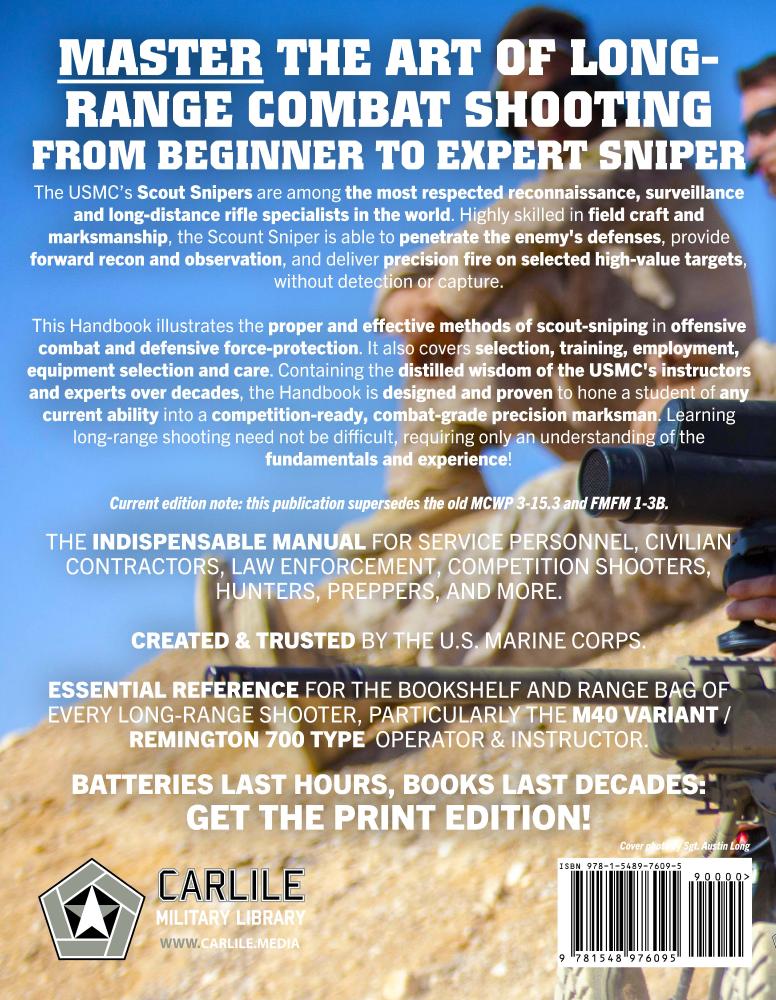 US Marine Corps Sniping Book