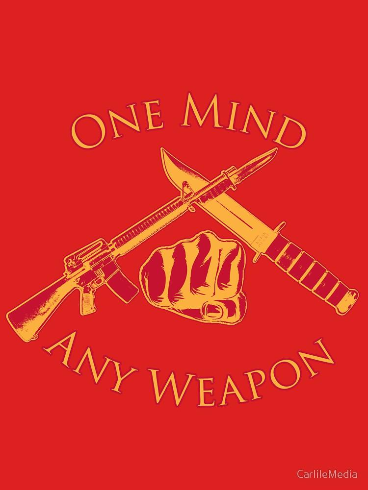 One Mind Any Weapon USMC Marine Corps MCMAP Martial Arts